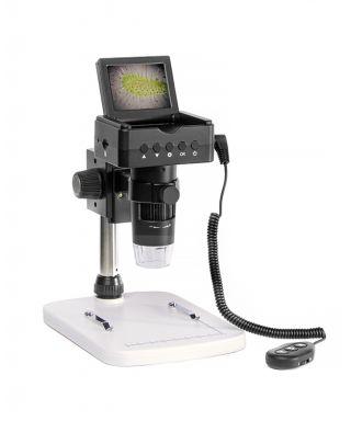 TKnewlcdm -- Microscopio portatile LCD con supporto Tecnosky