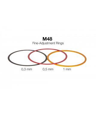Baader Anelllo di regolazione fine per passi M48, larghezza 0,3mm -- BP2457916
