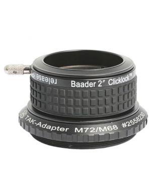 "Baader Portaoculari ClickLock da 2"" (50.8mm) con aggancio M72 -- BP2956272"