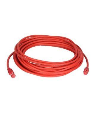 BP2455041 -- Cavo di rete (rosso) con cavo CAT-7 specificato da ColdTemp (spina CAT6a) 15 m