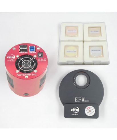 ASI1600MMP-M2 -- ASI 1600 Pro con EFWMini LRGB 31mm