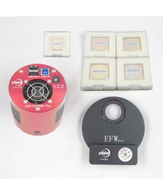 ASI1600MMP-M4 -- ASI 1600 Pro con EFWMINI LRGB+HA 31mm