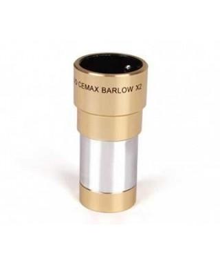 """CO-BAR -- LENTE DI BARLOW CORONADO CEMAX 2X BARILOTTO 31.8 MM / 1.25"""""""
